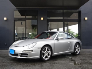 ポルシェ 911 911カレラ ティプトロニックS D車左H テラコッタ ナビ