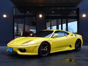 フェラーリ 360 モデナF1 並行車 左ハンドル 令和1年OH済 チャレンジグリル MSレーシングマフラー