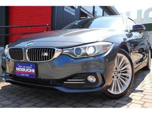 BMW 4シリーズ 420iクーペラグジュアリー1オーナー後期 後付け37万円