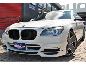 BMW 7シリーズ 740i WALD仕様フルカスタム・純正オプション&後付けカスタムパーツ総額230万円以上付き!メーカーオプション:プラスパッケージ&コンフォートパッケージ付き!本革・サンルーフ・HDDナビ!メンテナンス多数!