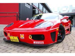 フェラーリ 360 モデナF1 チャレンジ仕様フルカスタム!新品含む後付けカスタム329万円以上!パワクラ可変マフラー!エンケイ&ディノコラボ鍛造18アルミ・新品カーボンGTウィング!フルエアロ・特注デカール新品デカールKIT他多数