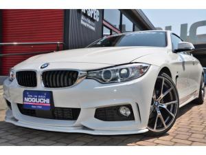 BMW 4シリーズ 420iクーペ Mスポーツ K-SPECコンプリートフルカスタム!OP&後付け新品パーツ86万円以上付き!ワンオーナー!19アルミ&タイヤ新品!エアロ新品!ダウンサス新品!Mスポーツ専用パーツ多数!10.2型ワイドHDDナビ他!