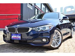 BMW 4シリーズ 420iクーペ ラグジュアリー メーカーオプション多数付き!本革シート・メーカー10.2型ワイドナビ&フルセグTV!MOPサイドブラインドモニター付き!アクティブクルコン・プリクラッシュブレーキアシスト!メーカーオプションカラー!他