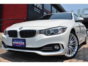 BMW 4シリーズ 428iクーペ ラグジュアリー 2ドアクーペ!245馬力!インテリジェントセーフティシステム・黒革シート!純正399アロイ19インチアルミ!純正8.8ワイドナビ!整備記録簿付き38763km!パドルシフト8AT!iDriveコント他