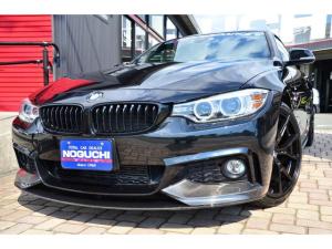 BMW 4シリーズ 420iクーペ Mスポーツ K-SPECフルコンプリートカスタム!純正オプション&社外パーツ69万円以上付き!2ドアクーペ!オプションのMパフィーマンスパーツ多数付き!728スタイル19インチアルミ!アルカンターラシート他!