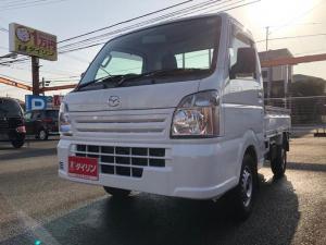 マツダ スクラムトラック KC農繁 エアコン パワステ デフロック ワンオーナー 高速2段切替4WD 作業灯 ABS