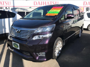 トヨタ ヴェルファイア 2.4Z プラチナムセレクション ナビ TV 後席モニター