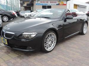BMW 6シリーズ 650iカブリオレ 本革パワーシート 純正HDDナビ