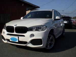 BMW X5 xDrive 35dMスポーツ 革シート HDDナビ