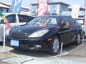 トヨタ ウィンダム 3.0G ブラックセレクション 黒革シート サンルーフ