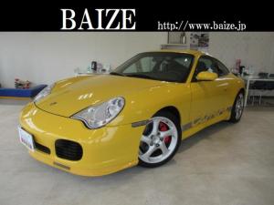 ポルシェ 911 911カレラ4S買取禁煙本革シートカーボンシフトステアリング