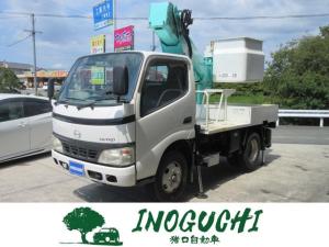 日野 デュトロ  高所作業車 9.9m アイチ製 SS10A 0.5t 0.5トン 5MT
