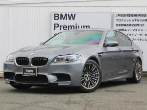 BMW M5 M5 DCT 左ハンドル 衝突軽減ブレーキ Mブレーキ