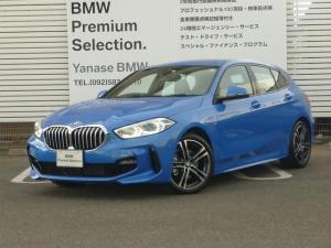 BMW 1シリーズ 118d Mスポーツ エディションジョイ+電動トランクゲート コンフォートP  LEDヘッドライト 18インチホイール i-Driveナビゲーション バックカメラ USB/Bluetoothオーディオ