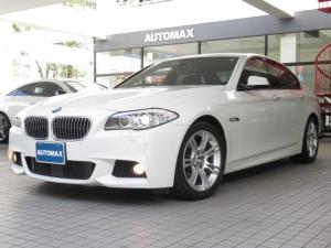 BMW 5シリーズ 523dブルーパフォーマンスMスポーツパッケージ インテリセーフティ ACC フリップダウンモニター Msports18インチアルミホイール 前後パークディスタンスコントロール ブラインドスポットアシスト 純正HDDナビTV バックカメラ