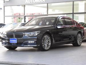 BMW 7シリーズ 740i リアコンフォートパッケージ ガラスサンルーフ 純正20インチアルミホイール プラスパッケージ ACC ベンチレーションシート ブラックレザーシート