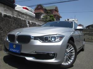BMW 3シリーズ 320iラグジュアリー 黒革 HDDナビ Bカメラ 1オーナ