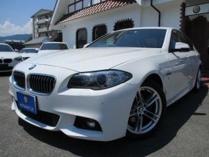 BMW 5シリーズ 523i Mスポーツ RSB サンルーフ HDDナビ DTV Bカメラ