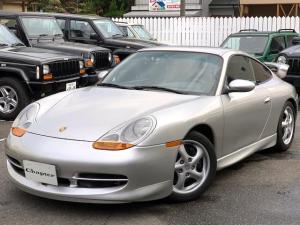 ポルシェ 911 911カレラ グレーレザーシート 電動サンルーフ ナビフルセグバックモニター GT3仕様 F・Sスポイラ- リアウイング 純正17インチAW 新品タイヤ4本