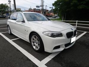 BMW 5シリーズ 528iツーリング Mスポーツパッケージ 本革 純正ナビ