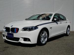 BMW 5シリーズ 523d Mスポーツ 黒レザー ACC付 18インチホイール 純正ナビ Bカメラ パワーシート シーとヒーター