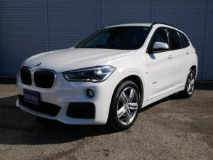 BMW X1 sDrive 18i Mスポーツ 純正ナビ Bカメラ LEDヘッドライト オートライト ワンオーナー