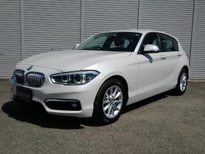 BMW 1シリーズ 118d スタイル ハーフレザーシート コンフォートアクセス Bカメラ 純正ナビ