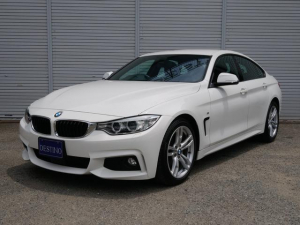 BMW 4シリーズ 420iグランクーペ Mスポーツ ACC付 純正ナビ Bカメラ パワーシート パークセンサー 電動リアゲート ETC