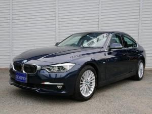 BMW 3シリーズ 320iラグジュアリー 後期 ACC付 黒革 スマートキー LEDヘッドライト シートヒーターBカメラ