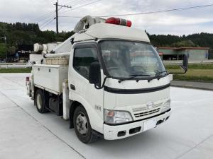 日野 デュトロ  高所作業車・高所作業車-作業高13M・バックカメラ・ETC・パワーウィンドウ