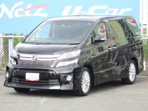 トヨタ ヴェルファイア 2.4Z Gエディション ツインムーンルーフ 本革電動シート