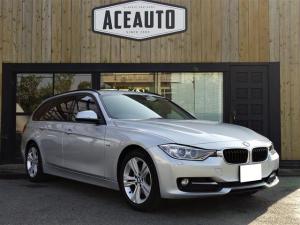 BMW 3シリーズ 320dツーリング スポーツ ディーゼルターボ 衝突軽減システム パワーシート HDDナビ・CD・DVD・ブルートゥース・USB・AUX バックカメラ スマートキー プッシュスタート電動リアゲート HID オートライト ETC