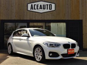BMW 1シリーズ 118i Mスポーツ ワンオーナー HDDナビ・CD・DVD・ブルートゥース・USB バックカメラ 障害物センサー前後 スマートキー アルカンターラシート LEDヘッドライト オートライト機能 クルーズコントロール