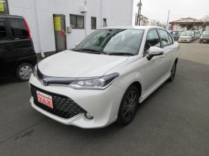 トヨタ カローラアクシオ 1.5G ダブルバイビー ナビTV LEDライト 禁煙車