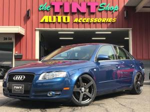 アウディ A4 2.0 19AW 新品車高調 ワンオーナー 天張り張替済み