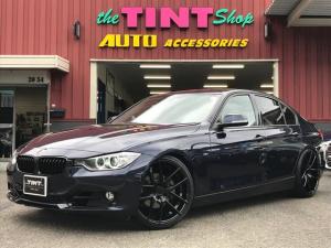 BMW 3シリーズ 320i スポーツ niche20インチAW 新品タイヤ 新品車高調 新品ブラックグリル LEDデイライト 純正ナビ DVD Bluetooth バックカメラ コンフォートアクセス ガラスフィルム 記録簿 スペアキー