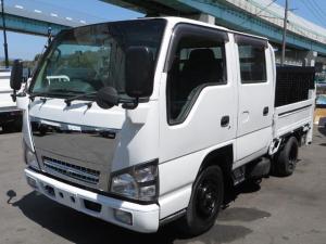 いすゞ エルフトラック Wキャブフラットロー ディーゼル