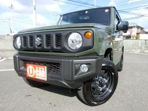 スズキ ジムニー XL セーフティサポート装着車  キーレスプッシュスタート オートエアコン 背面タイヤ ナビ TV