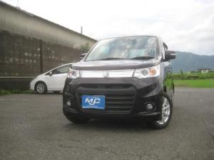 スズキ ワゴンRスティングレー X レーダーブレーキ装着車 HID プッシュスタート