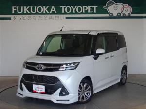 トヨタ タンク カスタムG-T メモリーナビ フルセグ