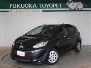 トヨタ アクア Sスタイルブラック メモリーナビ ETC