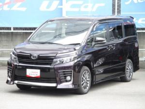 トヨタ ヴォクシー ZS SDナビ&バックガイドモニター・ETC・LEDライト