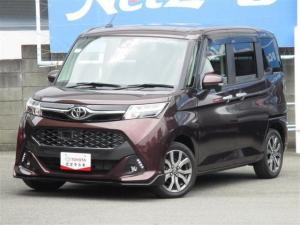 トヨタ タンク カスタムG-T ターボ スマアシII Tナビ&バックモニター