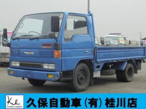 マツダ タイタントラック 低床平ボディ 1.5t F5 3方開 Wタイヤ