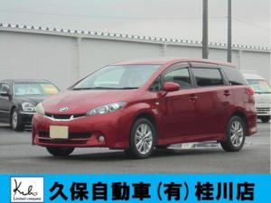トヨタ ウィッシュ 1.8S インテリキーHIDライト 7人乗り