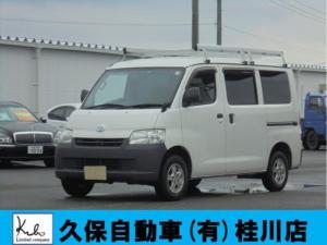 トヨタ ライトエースバン DX ルーフキャリアETC社外アルミナビ