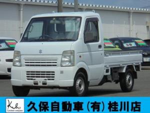 スズキ キャリイトラック KC エアコン パワステ 4WD 3方開 ゴムマット ETC