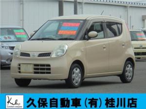 日産 モコ E インテリキー 電動格納ミラー ETC Wエアバック インパネAT ベンチシート オートエアコン ヘッドライトレベライザー