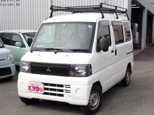 三菱 ミニキャブバン CL CD/ETC/ルーフキャリア