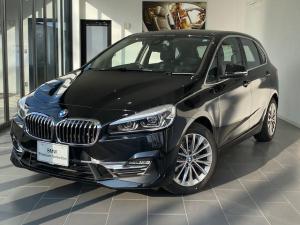BMW 2シリーズ 218dアクティブツアラー ラグジュアリー 弊社デモ黒革電動純正ナビオートトランク